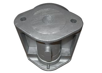 Plug Butterfly Valve Aluminium Die Casting Weight 5.68KG ASTM AISI Standard