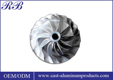 Investment Casting Stainless Steel Impeller Lightweight 7.93g/Cm3 Density