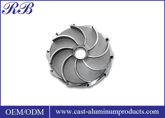 Heat Resistance Stainless Steel Impeller Investment Casting ISO Certificated